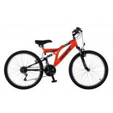 Ποδήλατο 20'' Comfort full suspension 151147 Πορτοκαλί/Μαύρο